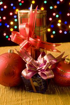 Free Christmas Still Life Royalty Free Stock Photos - 6565758