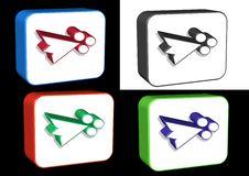Free 3D Arrows Royalty Free Stock Photos - 6565828