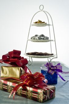 Gifts In A Party Stock Photography