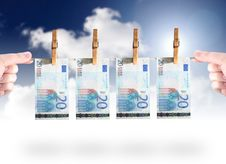 Free Money Laundering Stock Photo - 6565970