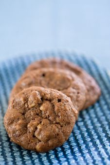 Free Health Choclate Cookies Royalty Free Stock Photography - 6565997