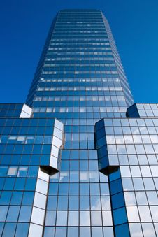 Free Blue Skyscraper Stock Photography - 6566202