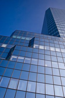 Free Blue Skyscraper Royalty Free Stock Photos - 6566208