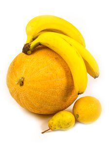 Free Fragrant Ripe Melon With Fruit Stock Photo - 6566640