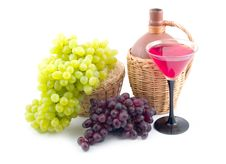 Free Red And Green Sweet Grapes Stock Images - 6566664