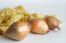 Free Onions Royalty Free Stock Photo - 6566715