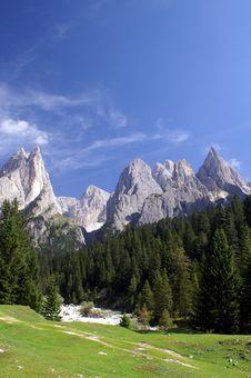 Free Dolomites Royalty Free Stock Photo - 6566735