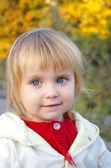 Free Portrait Of  Little Girl Stock Photo - 6566860
