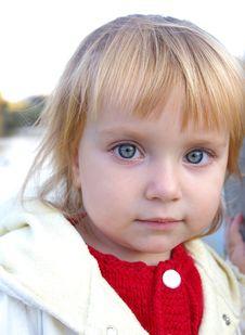 Free �ute Little Caucasian Girl Stock Photos - 6566883