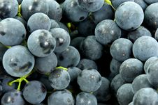 Free Fresh Grapes In A Basket Stock Photo - 6567350
