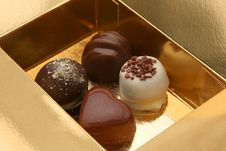 Free Chocolate Pralines Royalty Free Stock Photo - 6567475