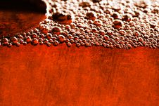 Free Grunge Orange Background With Water Bubbles Stock Photography - 6567862