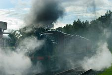 Free Steaming Out Of Bodiam Royalty Free Stock Photo - 6567865