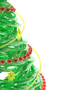 Free Rendered Stylized Christmas Pine Tree Stock Photo - 6568290