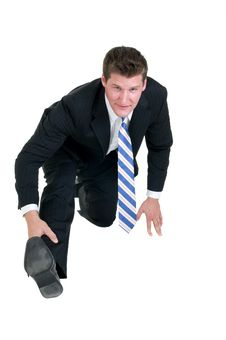 Free Young Businessman Stock Photography - 6568492