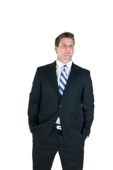 Free Confident Business Man Stock Image - 6568621