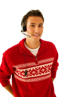 Free Young Man In Sweater Stock Photography - 6568672