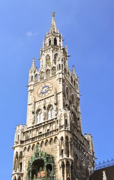 Free The City Hall In Marienplatz Munich Stock Photography - 6569662