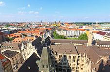 Free The Aerial View Of Munich City Center Royalty Free Stock Photo - 6569835