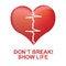 Free Electro Heart Royalty Free Stock Photo - 65625705