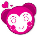 Free A Pink Little Monkey Royalty Free Stock Photography - 6574657