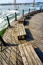 Free Bench On Lake Shore Royalty Free Stock Photos - 6576178