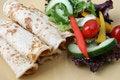Free Salad And Pancakes Royalty Free Stock Photo - 6577365