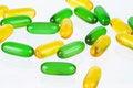 Free Some Gel Vitamins Royalty Free Stock Image - 6577966