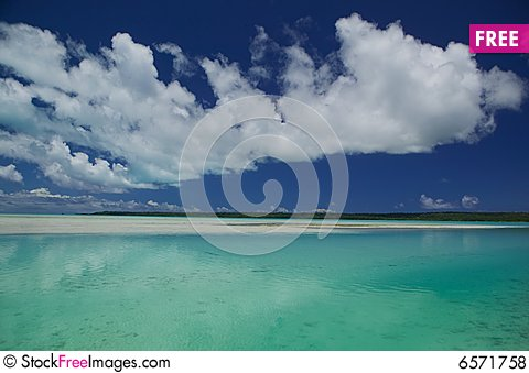 Free Tahitian Lagoon Royalty Free Stock Photos - 6571758