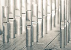 Free Organ Pipes Royalty Free Stock Image - 6570106