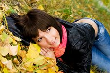 Free Happy Girl On The Grass Stock Photos - 6570373