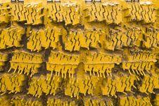 Free Yellow Old Tyres Stock Photo - 6570480