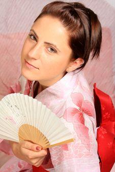 Free Kimono Girl Stock Photo - 6570980