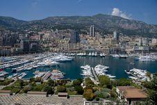 Free Monaco And Marina Stock Photography - 6571492