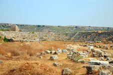 Free Ruins Of The Roman Stadium. Stock Photo - 6572550