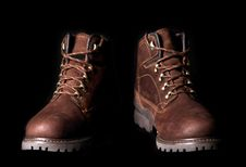 Free Brown Boots Royalty Free Stock Photo - 6572885