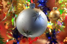 Free Christmas Decorations. Stock Image - 6573011