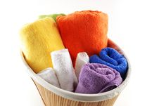Free Bath Towels Stock Images - 6573454