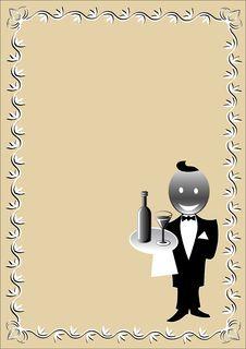 Free Waiter Stock Photography - 6573852