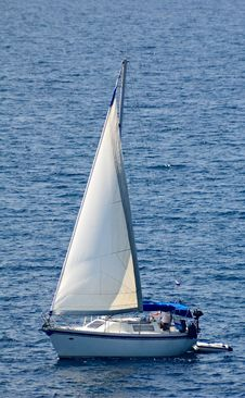 Free Sailing Yacht Royalty Free Stock Images - 6574379