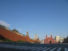 Free Red Square Moskow Royalty Free Stock Images - 6574399