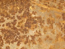 Free Rusty Old Metal Background Stock Image - 6574721