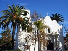 Free San Diego Historic Church Stock Photo - 6574780