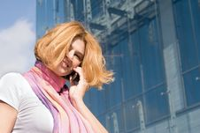 Free Woman With Phone Stock Photo - 6575180