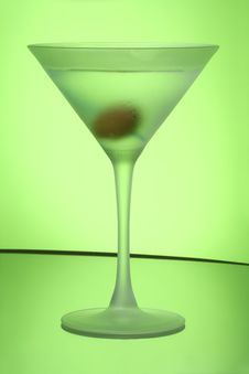 Free Green Apple Martini Royalty Free Stock Photos - 6575308