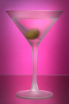 Free Raspberry Martini Stock Image - 6575311