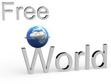 Free Earth Chained In A Circuit. Royalty Free Stock Photo - 6575755
