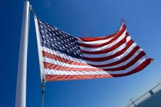 Free American Flag Royalty Free Stock Image - 6575866