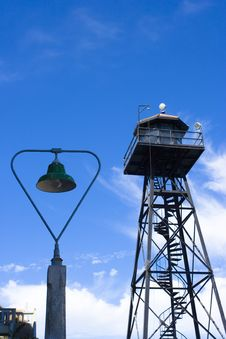 Free Watch Tower Alcatraz Stock Photo - 6575910