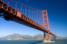 Free Golden Gate Up Close Stock Photos - 6576123
